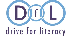 RATCHET - Drive For Literacy logo